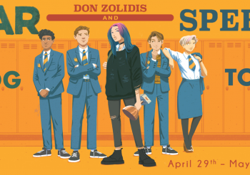 Fantastic Flying Bookclub Blog Tour: War and Speech by Don Zolidis