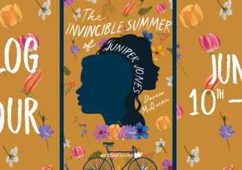 Fantastic Flying Bookclub Blog Tour: The Invincible Summer of Juniper Jones by Daven McQueen (Review & Author Interview)
