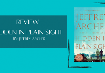 Review: Hidden in Plain Sight by Jeffrey Archer